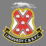 Away team Limavady United logo. PSNI vs Limavady United predictions and betting tips