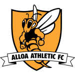 Home team Alloa Athletic logo. Alloa Athletic vs Peterhead prediction, betting tips and odds