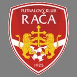 Home team Rača logo. Rača vs Pezinok prediction and odds