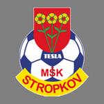 Away team MSK Tesla Stropkov logo. Vranov nad Topľou vs MSK Tesla Stropkov prediction and odds