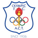 Home team Canberra Olympic logo. Canberra Olympic vs Belconnen United prediction and odds