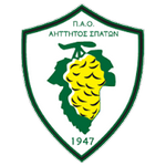 Home team Aittitos Spaton logo. Aittitos Spaton vs Pannaxiakos prediction and tips