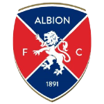 Away team Albion FC logo. Defensor Sporting vs Albion FC predictions and betting tips