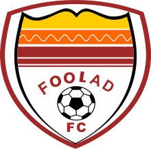 Home team Foolad FC logo. Foolad FC vs Naft Masjed Soleyman prediction and odds