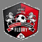 Away team Fleury 91 logo. St-Pryvé St-Hilaire vs Fleury 91 prediction and odds