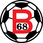 Away team B68 logo. NSI Runavik vs B68 prediction and tips