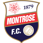 Home team Montrose logo. Montrose vs Airdrie United prediction and odds