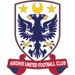 Home team Airdrie United logo. Airdrie United vs Forfar Athletic prediction and odds