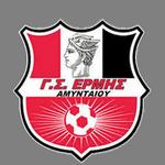 Away team Ermis Amyntaio logo. Karitsa vs Ermis Amyntaio prediction and tips