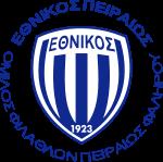 Away team Ethnikos Piraeus logo. Moschato vs Ethnikos Piraeus prediction and tips