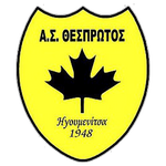 Home team Thesprotos logo. Thesprotos vs Apollon Pontou prediction and tips