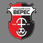 Home team Veres Rivne logo. Veres Rivne vs VPK-Ahro Shevchenkivka prediction and odds