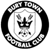 Away team Bury Town logo. Canvey Island vs Bury Town prediction and odds