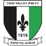 Away team Cray Valley PM logo. Herne Bay vs Cray Valley PM prediction and odds