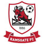 Away team Ramsgate logo. VCD Athletic vs Ramsgate prediction and odds