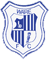 Away team Ware logo. Chertsey Town vs Ware prediction and odds