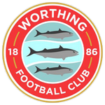 Home team Worthing logo. Worthing vs Folkestone Invicta prediction and tips