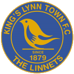 Away team King's Lynn Town logo. Chesterfield vs King's Lynn Town prediction and tips