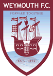 Away team Weymouth logo. Solihull Moors vs Weymouth prediction and tips